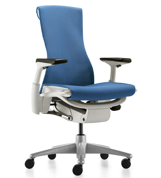 Кресло Herman Miller Embody Blue Moon - Салон «KingStyle»