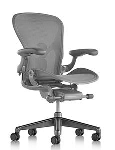 Herman Miller Aeron New Carbon