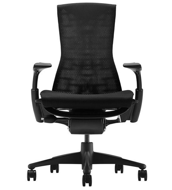 Кресло Herman Miller Embody Black - Салон «KingStyle»